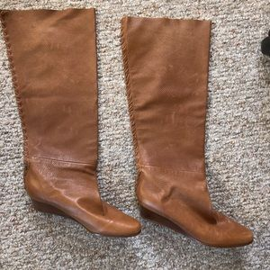 Authentic leather MICHAEL KORS Knee high boots!